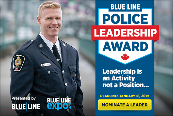 Police Leadership Award now accepting nominations