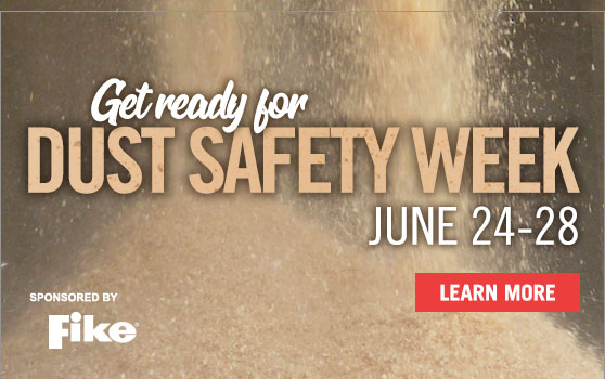 The third annual Dust Safety Week is approaching!