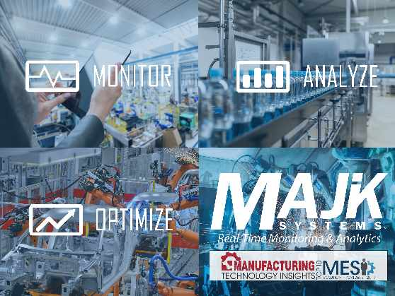 MAJiK Systems is hosting a webinar on Artificial Intelligence in the Manufacturing Industry on December 6, 2018.