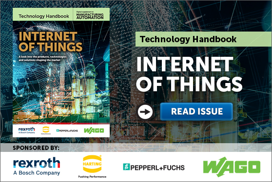 Manufacturing AUTOMATION presents the Internet of Things Technology Handbook