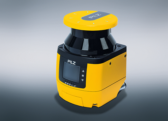 Productive area monitoring with the safety laser scanner PSENscan from Pilz