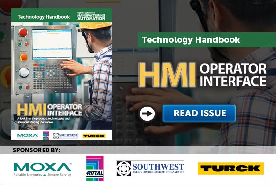 Manufacturing AUTOMATION presents the HMI & Operator Interface Technology Handbook