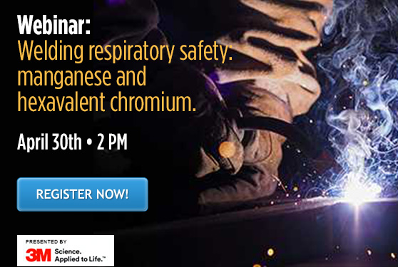 Welding respiratory safety: Manganese and hexavalent chromium