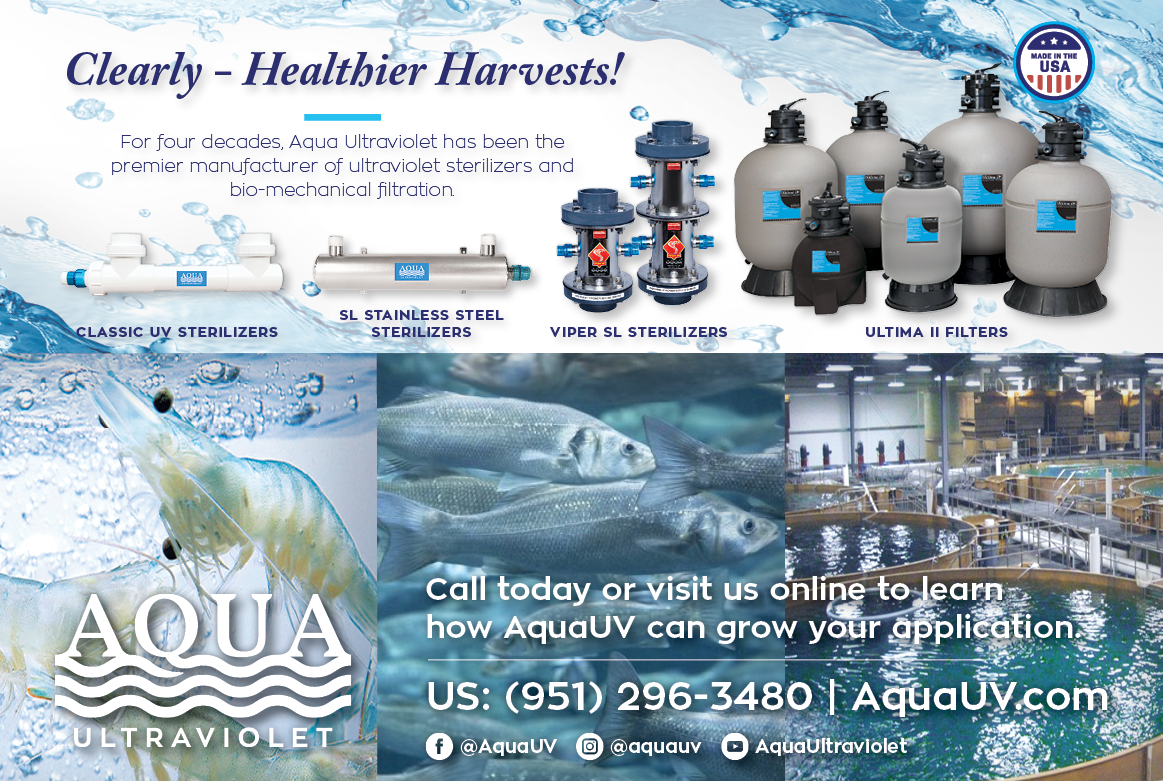 <center>AQUA UV, THE INDUSTRY LEADER OF CLEAN WATER</center>