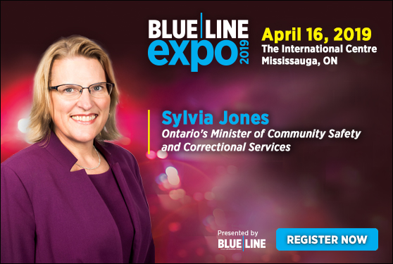 Blue Line Expo 2019 welcomes Sylvia Jones