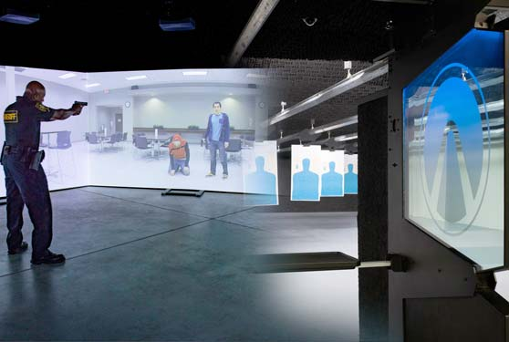 The world's only integrated live-fire and virtual weapons training systems
