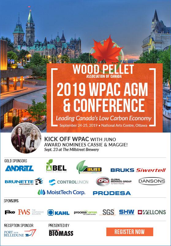 Tour New Brunswick pellet plants with WPAC
