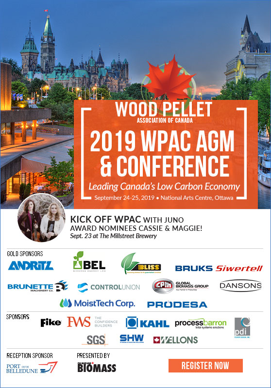 Learn to grow Canada's pellet heating market<br>at WPAC 2019