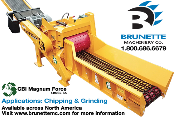 <center>Brunette Machinery Company Adds New Machine to Product Line!</center>