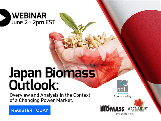 <center>WEBINAR: Japan's biomass outlook in a changing power market </center>