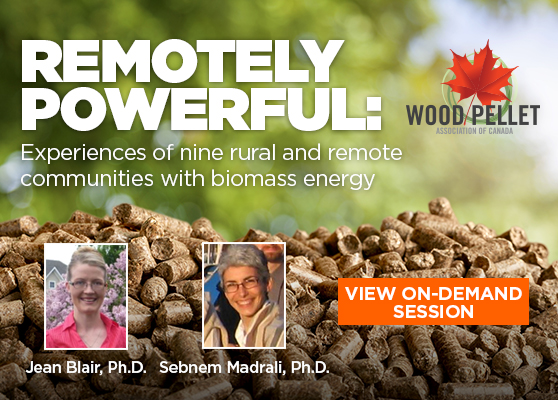 <center>WPAC on-demand: a look at nine rural and remote communities' experience with bioheat</center>