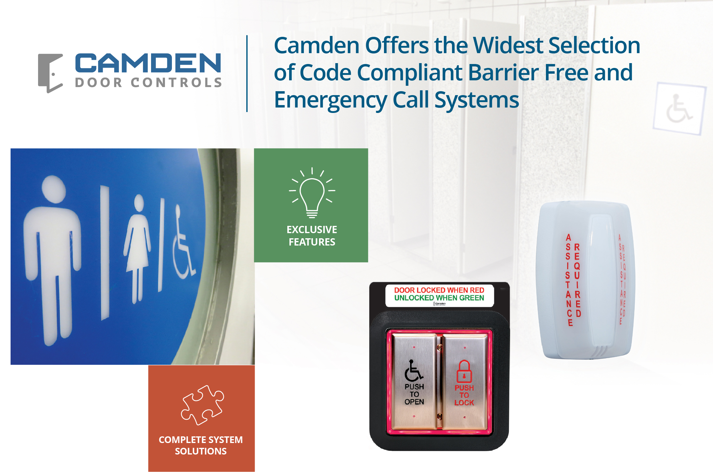 Canada's Leading Manufacturer of Door Activation, Control & Locking Products