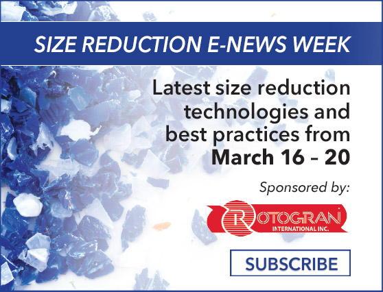 Size Reduction E-News Week | March 16-20