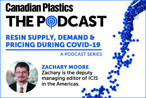 Resin supply, demand and pricing during COVID-19 – A podcast series