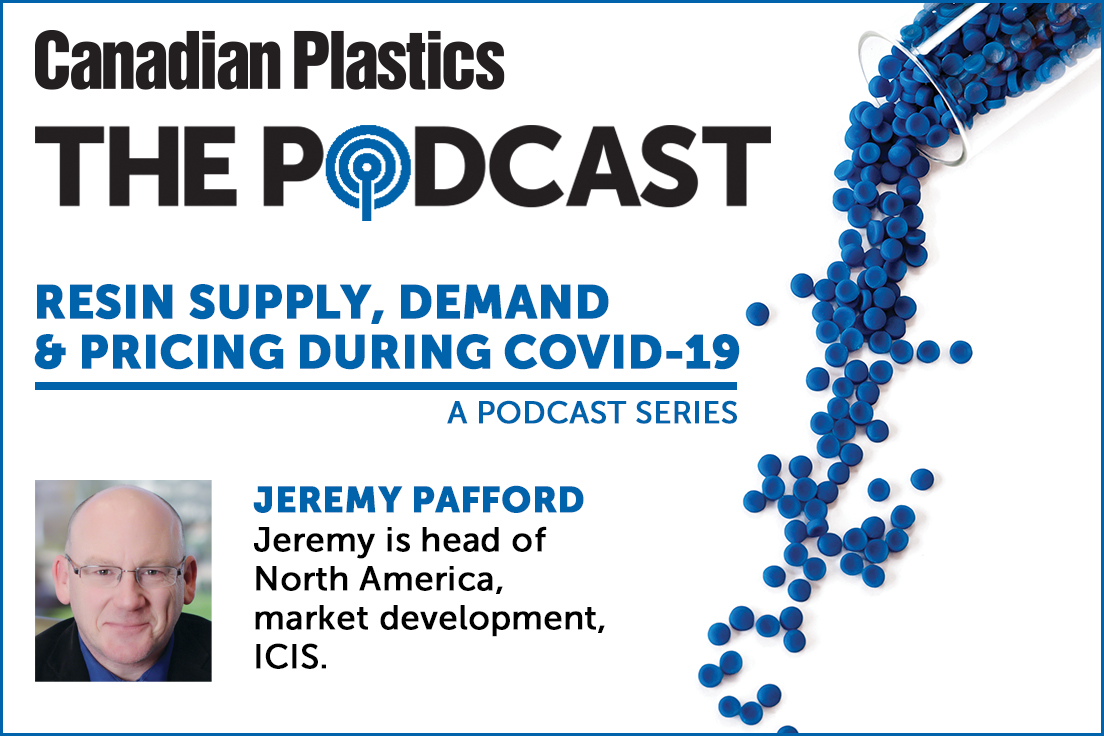 Canadian Plastics Podcast - Resin supply, demand and pricing during COVID-19, Part 6: PET