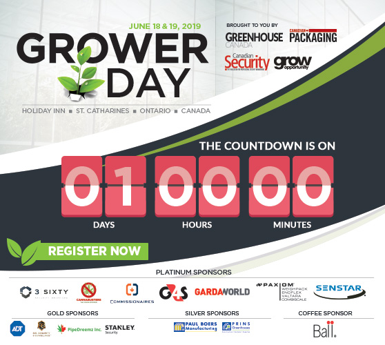 <b>Grower Day just a day away!</b>