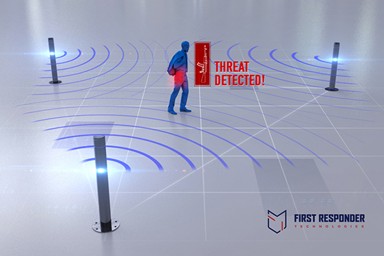 First Responder Technologies Develops Revolutionary WiFi Based Concealed Weapons Detection Solution