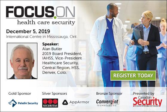 <center><b>IAHSS at Focus On Healthcare Security</b><br>