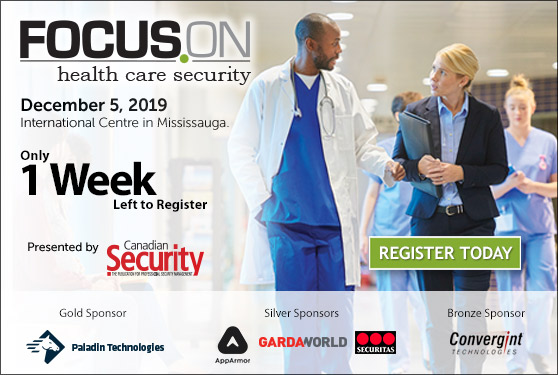 <center><b>Focus On Healthcare Security happens next week!</b><br>