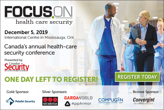 <center><b>Focus On Healthcare Security is Tomorrow!</b><br>