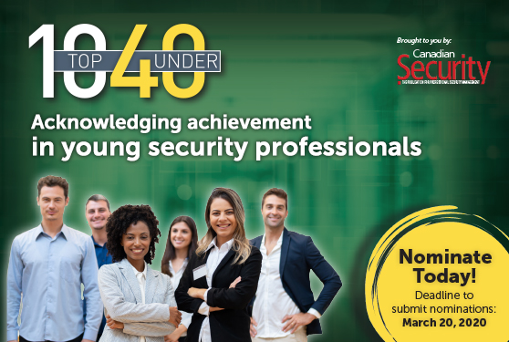 Help us recognize security's young achievers