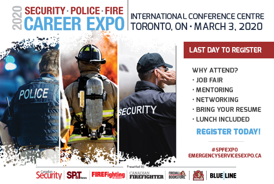 <b>Security • Police • Fire Career Expo happens tomorrow!</b>
