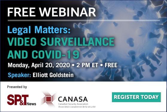 <b>Video Surveillance, Coronavirus & the Law</b>
