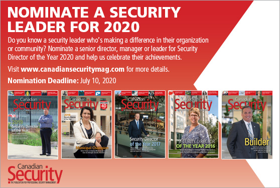 <b>Help us celebrate security's leaders</b>