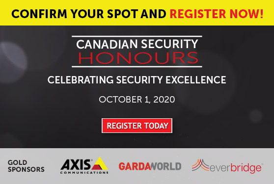 Confirm your spot now for Canadian Security Honours