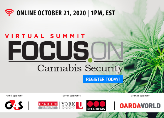 <b>Register Now for Focus On Cannabis Security</b>