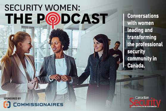 <b>Security Women, the podcast</b>