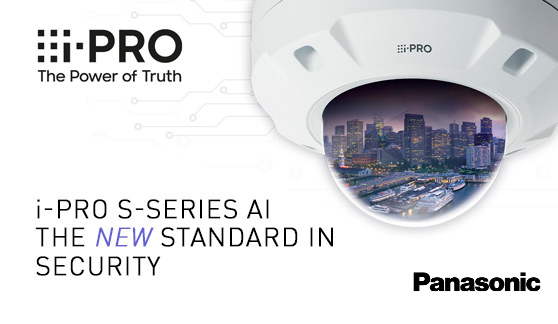 <b>The New Panasonic i-PRO S-Series is AI enabled – update your surveillance operations</b>