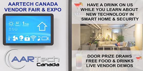 <center>Register Now For Aartech Canada's Vendor Expo</center>