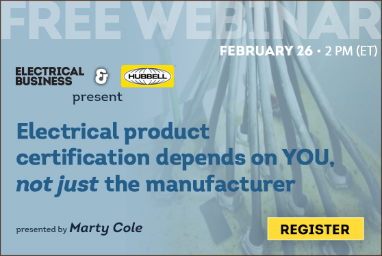 Electrical product certification: Meet your presenter!