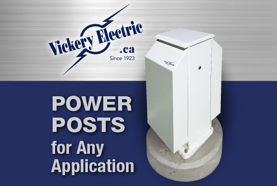 <b>Specialists in Marinas and Railyards: Vickery Power Posts</b>