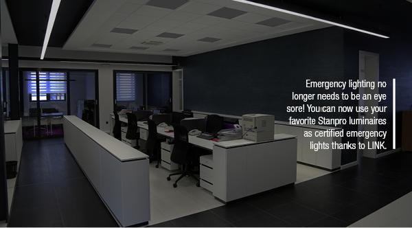 Emergency lighting no longer needs to be an eye sore!