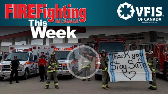 Fire department celebrates children's birthdays
