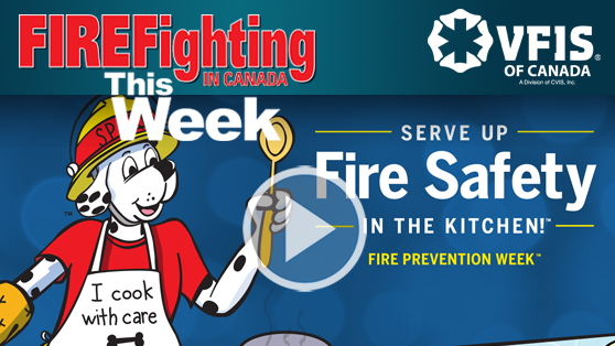 Canadian departments focus on Fire Prevention Week
