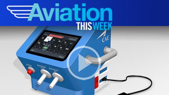 CAE develops a ventilator in 11 days