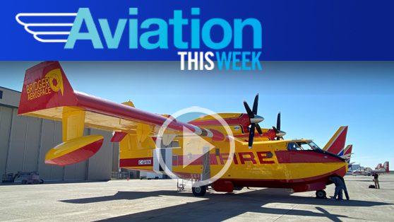 First CL-415EAF arrives in advance of 2020 North American wildfire season