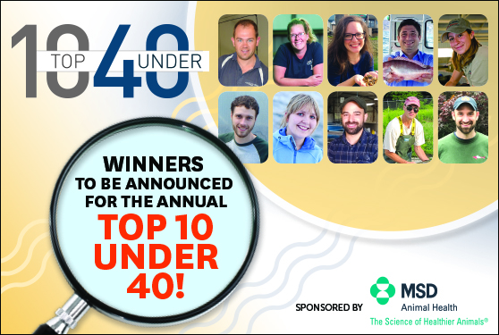 <center>Who will be this year's Top 10 Under 40?</center>