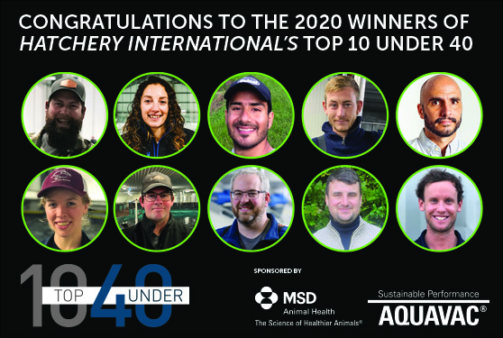 <center>CONGRATULATIONS TO THIS YEAR'S TOP 10 UNDER 40</center>