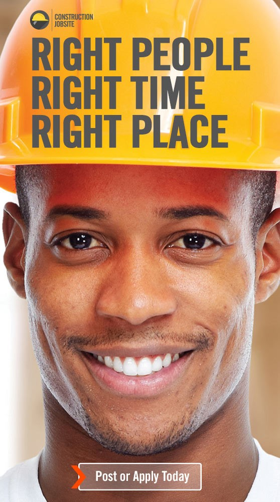 Construction jobs and nothing but