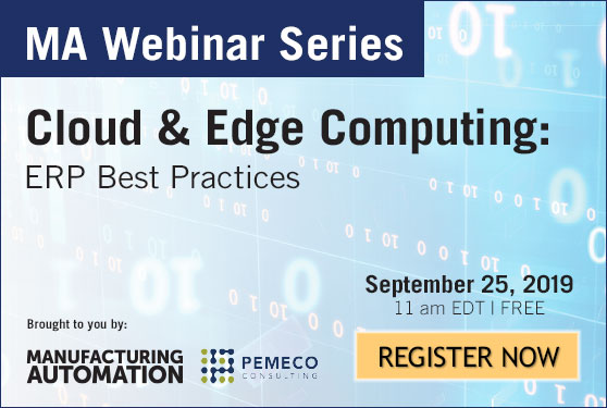 <center>Join Manufacturing AUTOMATION and <br>Pemeco Consulting for our free webinar!</center>