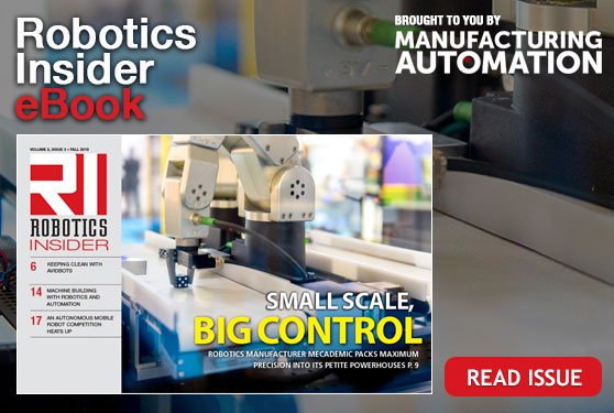 <center>Robotics Insider fall issue now live</center>
