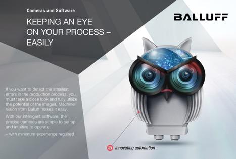 <center>Balluff Vision Solutions for Manufacturing</center>