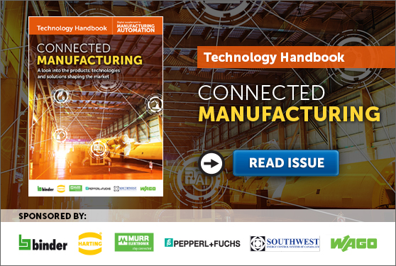 <center>Manufacturing AUTOMATION presents the Connected Manufacturing Technology Handbook</center>