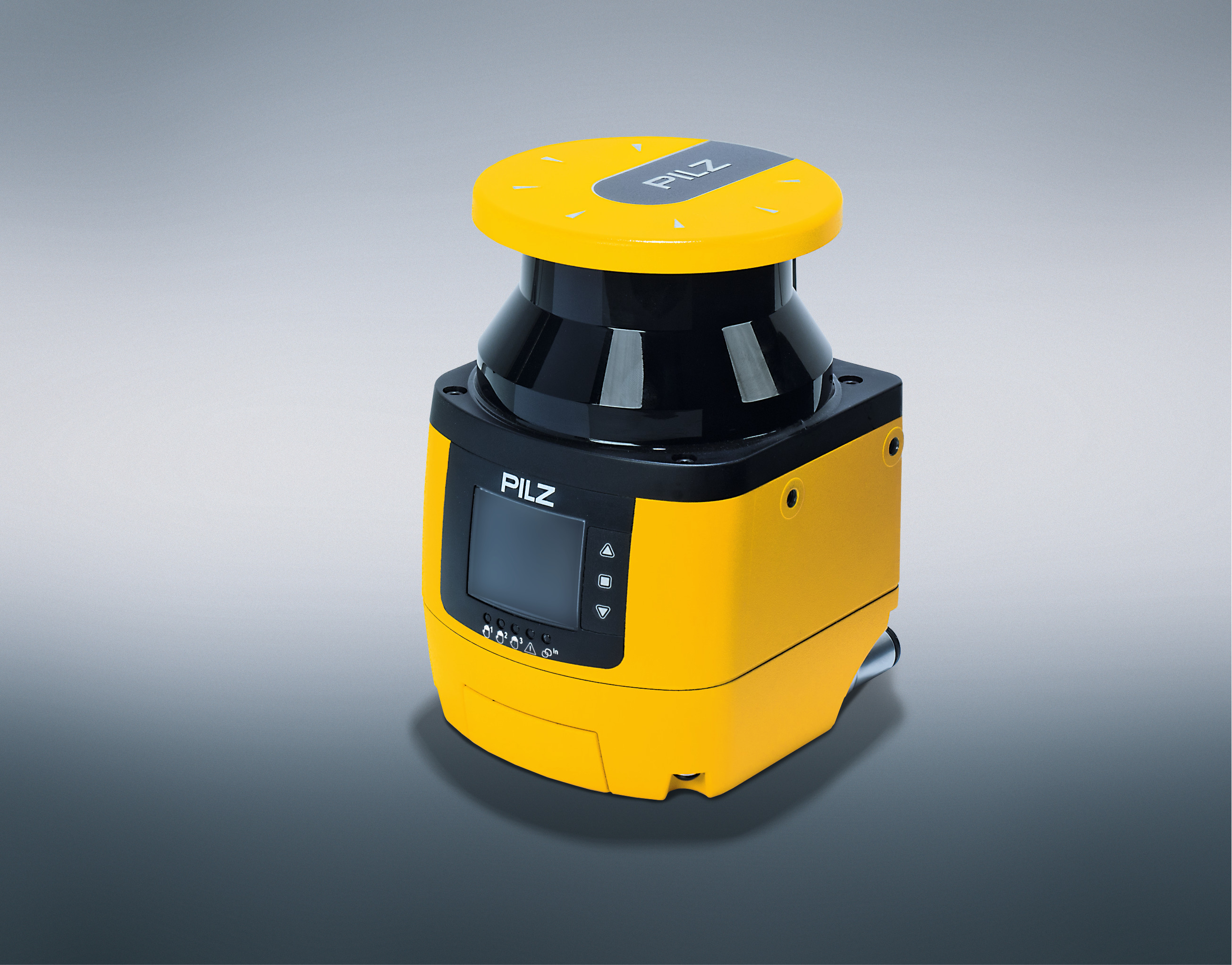 <center>Pilz offers now the new master/slave safety laser scanner PSENscan for a productive area monitoring!</center>