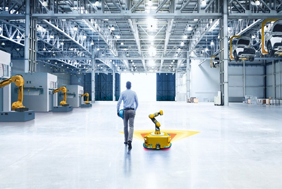The new mobility: How sensors control the cobots of the future