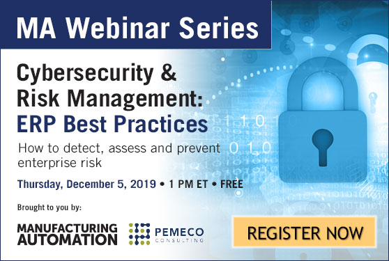 Join Manufacturing AUTOMATION and Pemeco Consulting for our free webinar!